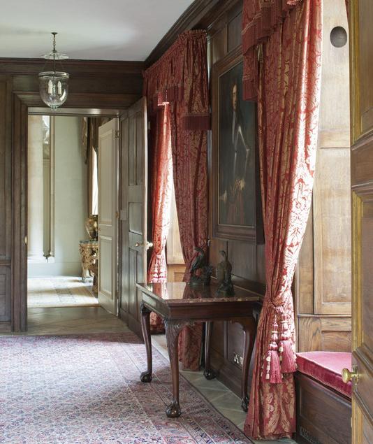 طراحی داخلی کلاسیک و شیک انگلیسی
