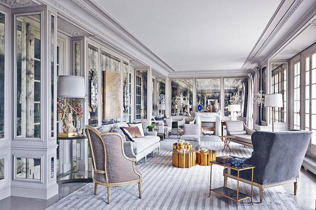 طراحی داخلی به سبک کشور فرانسه