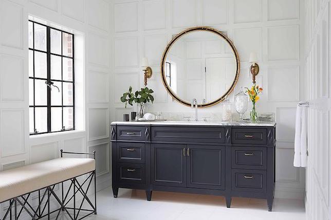 بهترین آینه های دکور در طراحی داخلی حمام