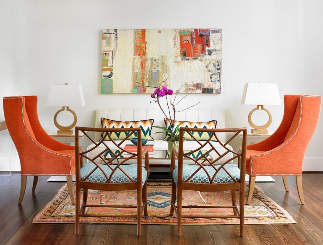 6 نکته برای به روز کردن رنگ آپارتمان بدون نقاشی