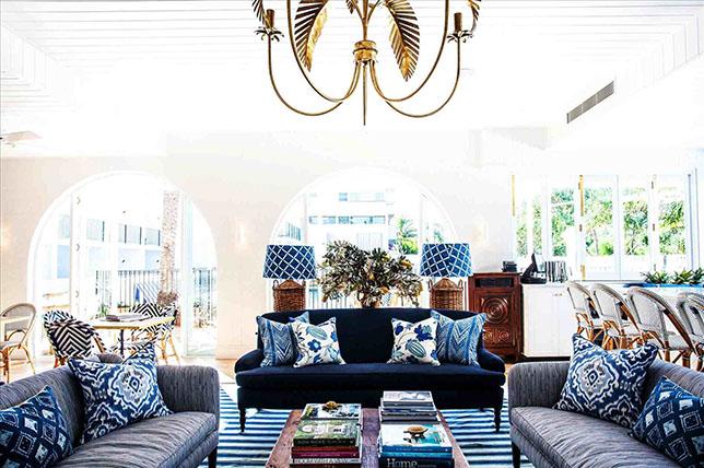 طراحی داخلی به سبک ساحلی