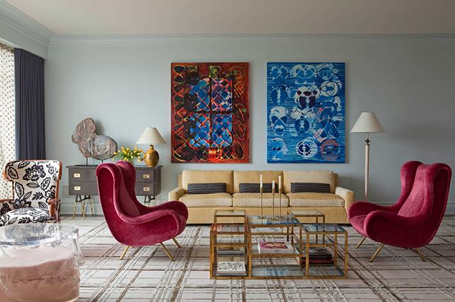 بهترین رنگ های طراحی داخلی در سال 2019