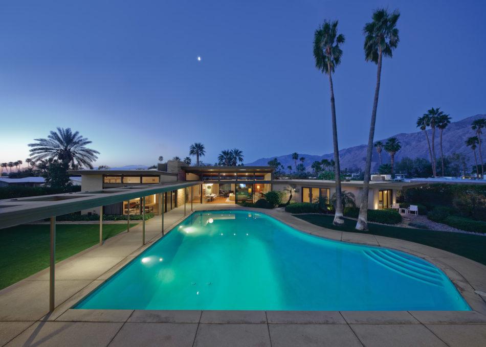 خانه های مدرن ستاره های هالیوود Mid-Century