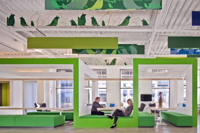 طراحی داخلی اداری که دوست دارید در آن کار کنید