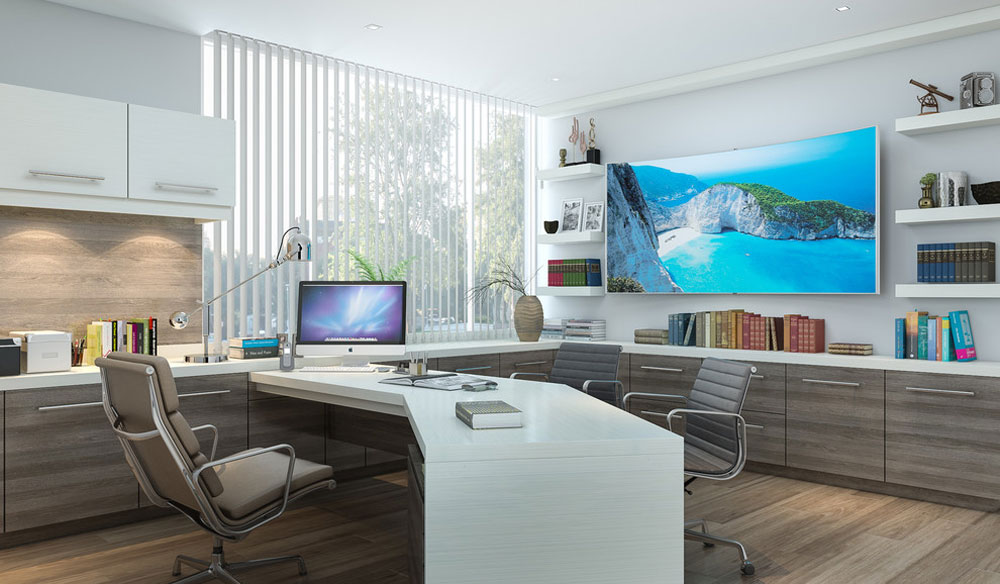 طراحی داخلی شیک و مدرن برای الهام گرفتن شما در محل کار