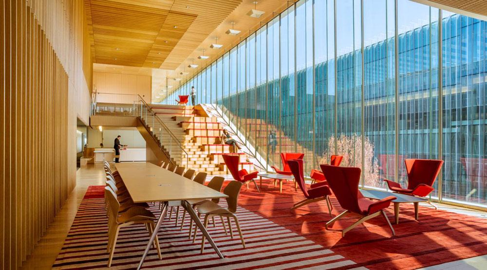 ایده های طراحی داخلی فضای اداری لوکس