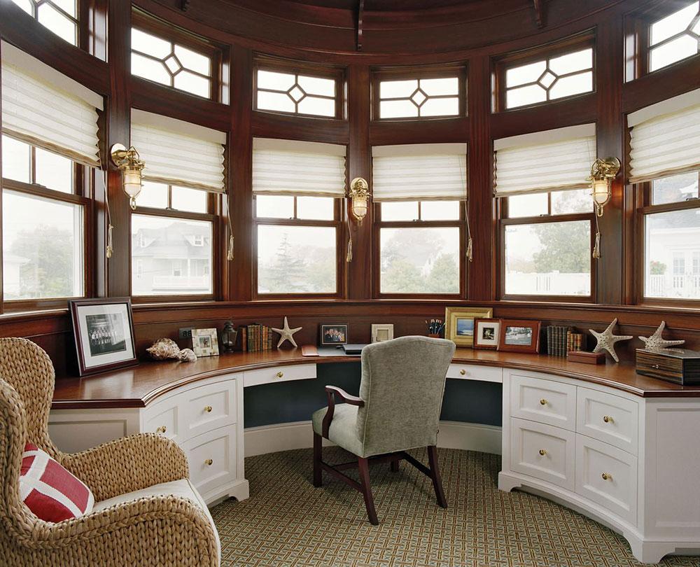 ایده های طراحی داخلی دفتر کار شما با توجه به سبک شما
