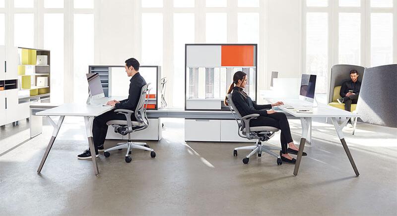 طراحی داخلی دفتر هوشمندبا فرهنگ دیجیتال