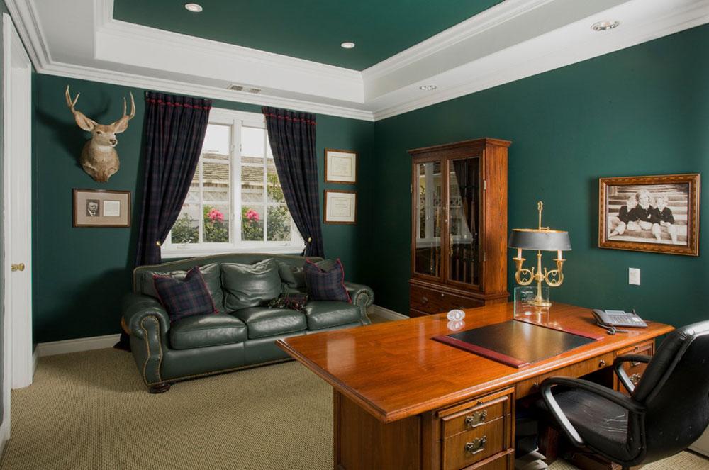 رنگ های مناسب جهت طراحی داخلی اتاق کار