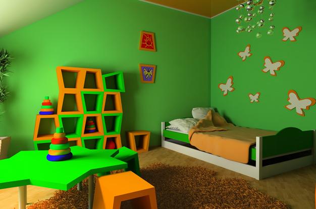 ۶ ترفند برای چيدمان اتاق کودک