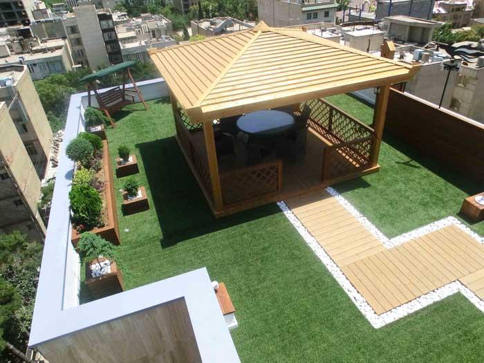 طراحی بام سبز