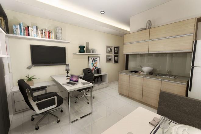 طراحی داخلی واحد اداری