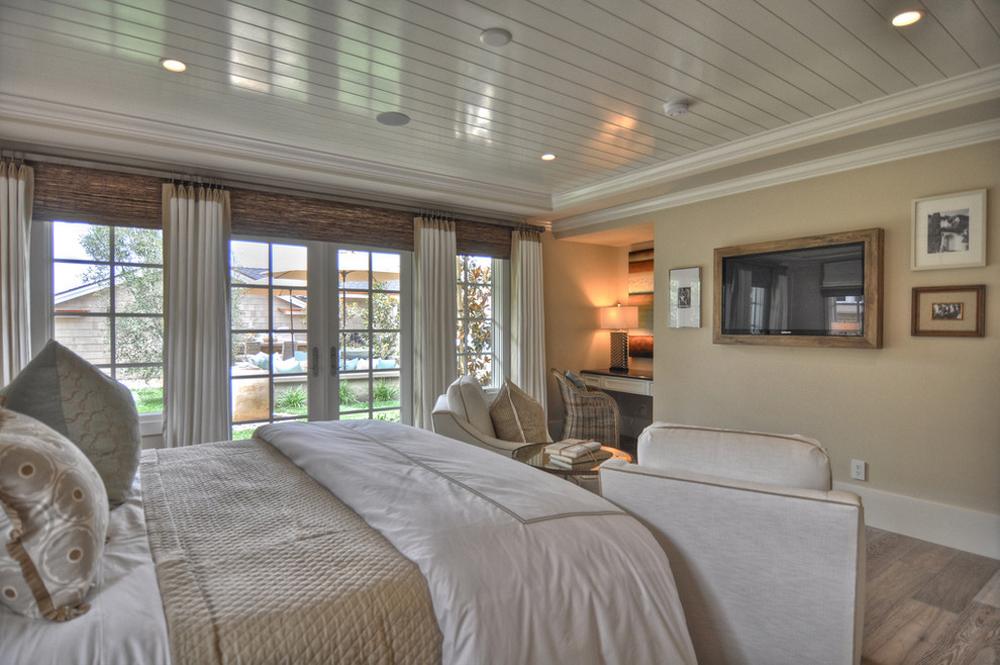 طراحی داخلی اتاق خواب در خانه ساحلی (ویلا)