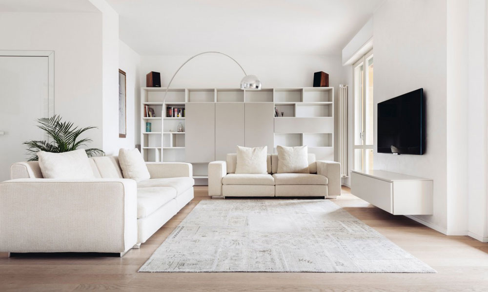 طراحی داخلی اتاق نشیمن به شیوه های متفاوت و شیک